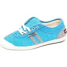 E6772 (Without Box) Sneaker Donna Light Blu Kawasaki Scarpe Canvas Shoe Woman