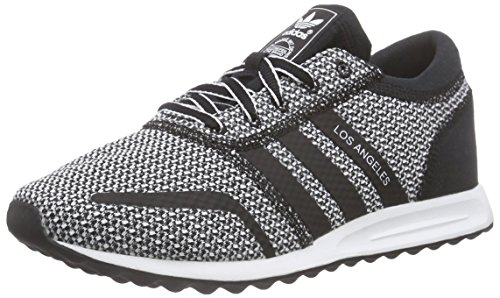adidas Originals Damen Los Angeles Sneakers, Schwarz (Core Black/Core Black/Ftwr White), 36 EU (Los Black Angeles And White)