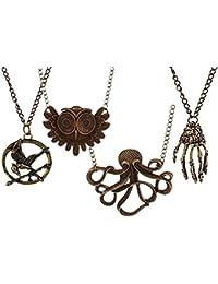 Sorella'z® Combo of Four Vintage Necklaces for Women