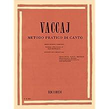 Metodo Pratico Di Canto: Ariette su Testi di Metastasio, Mezzo Soprano O Baritono, Practical Vocal Method