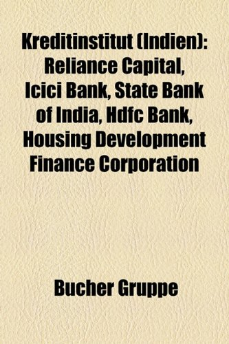 kreditinstitut-indien-reliance-capital-icici-bank-state-bank-of-india-hdfc-bank-housing-development-
