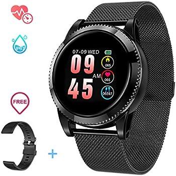 GOKOO Smartwatch, Reloj Inteligente Android, Pulsera Actividad Inteligente para Deporte, Reloj Iinteligente Hombre