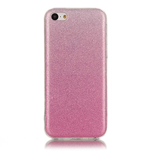Wkae Case Cover cas iphone 5C, coloré modèle TPU étui souple cas de couverture de peau de silicone de caoutchouc pour iphone 5C by DIEBELLEU ( Color : O , Size : Iphone 5C ) C