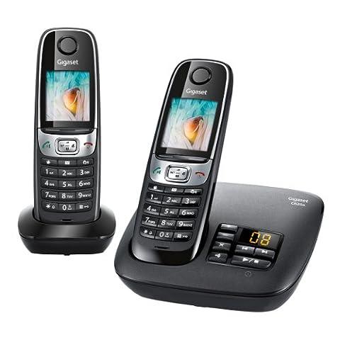 Gigaset C620A Duo Téléphone sans Fil -Répondeur 2 Combinés