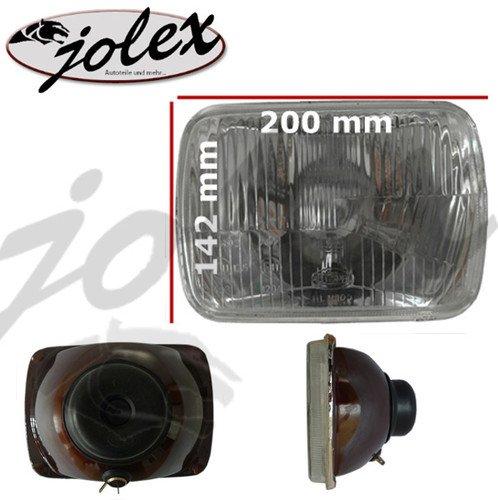 """Universal H4 Scheinwerfer mit \""""E\"""" und Standlichtfunktion für Oldtimer (PKW/Motorrad) NEU"""