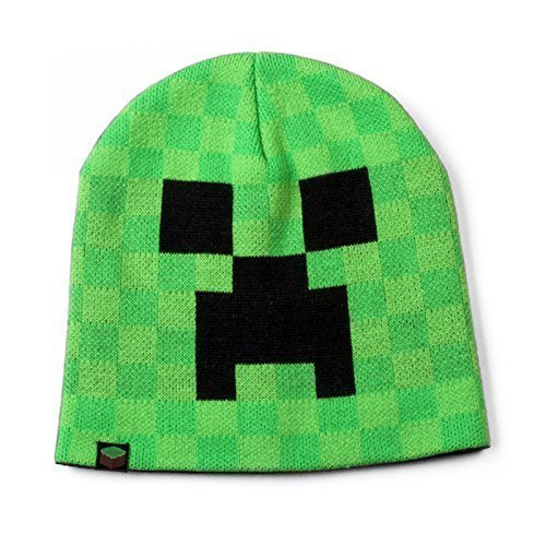 Minecraft - Creeper Face Beanie - (Minecraft Mütze Beanie)