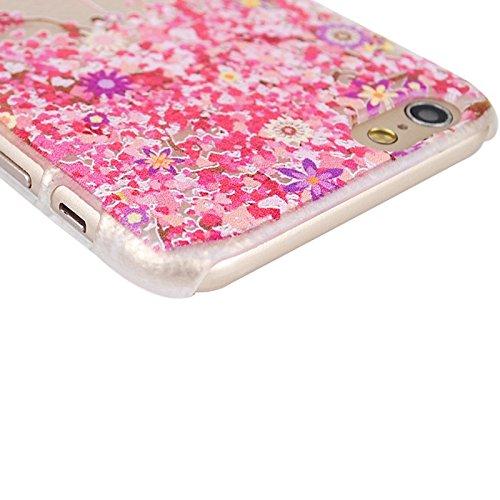 Phone case & Hülle Für IPhone 6 / 6S, Prägung Stil bunte Streifen Muster Kunststoff Fall ( SKU : S-ip6g-0180f ) S-ip6g-0180e