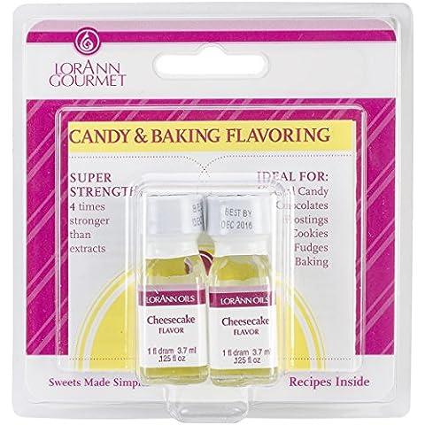 Candy & cottura condimento .125Oz bottiglia 2/Pkg-Cheesecake