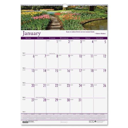 House of Doolittle Earthscapes Gärten der Welt Wandkalender 12Monate Januar 2014bis Dezember 2014, 30,5x 41,9cm, Foto, recyceltem (hod302)