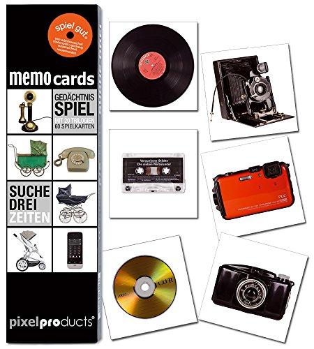 Pixel Products PIXMC008 - Memo Cards - Suche Drei - Die Welt Die Fotos, Verändert