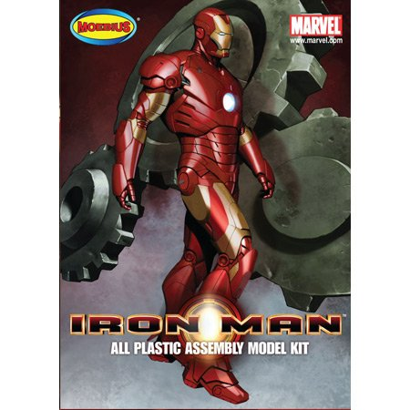 Moebius 905 Iron Man Mark III Model Kit