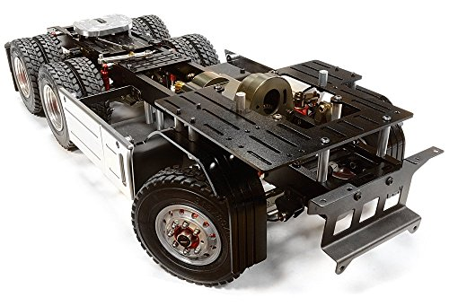 Integy-Hobby-RC-Model-C26050GUN-Billet-Machined-Rolling-Chassis-for-Custom-114-Semi-Tractor-Truck