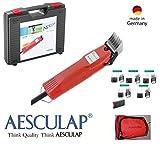 Rojo schopf24Edition: aesculap Perros Esquiladora gt114favo Rita Speed + 1,8mm schneidsatz + 5metal peines + Rojo schopf24funda. 34311