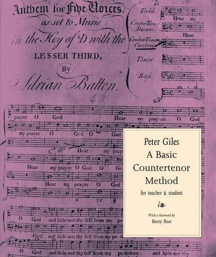 Basic Countertenor Method