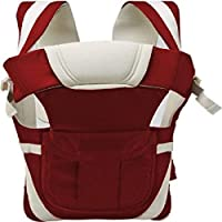 Chinmay Kids® Baby Carrier Bag With Hip Seat And Head Support For 4-12 Months WB (Maroon)