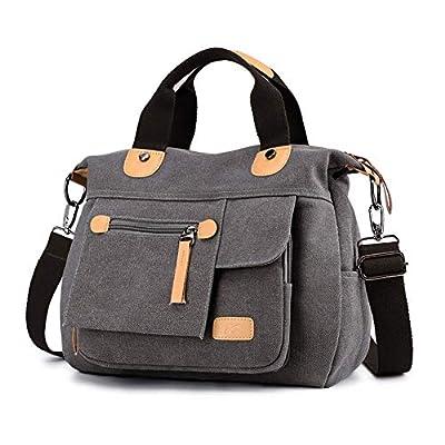 Signice Women Shoulder Bag Canvas Crossbody Bag Handbag Casual Messenger Bag Stylish Ladies Top Handle Bag Fashion Cross Body Bag Travel Satchel Bag