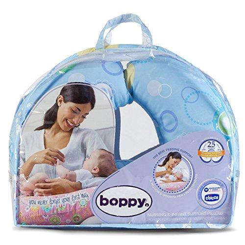Boppy- Cojín de lactancia algodón, ergonómico,...