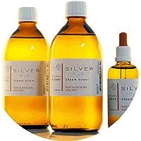 Preisvergleich für PureSilverH2O 1100ml Kolloidales Silber (2X 500ml/10ppm) + Pipettenflasche (100ml/50ppm) Reinheit & Qualität seit...