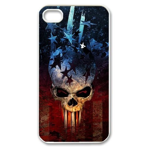American Flag DIY Cover Case for Iphone 4,4S,personalized phone case ygtg-775179