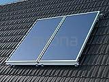 Brötje Solar-Systempaket SolarPlan FK 26 W B mit 2 Kollektoren für WGB-M EVO 20 H