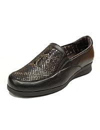 DOCTOR CUTILLAS - Zapato Corte Licra y Piel Flex - Negro 52415