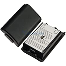 New World Xbox 360 Controller Replacement Battery Pack Cover Shell (Black)