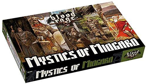 """Asterion Blood Rage, """"Mystics of Midgard""""-Erweiterung, mehrsprachig."""