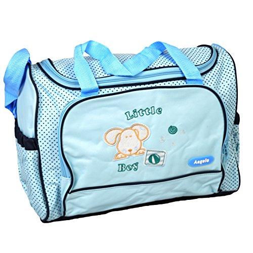 Preisvergleich Produktbild Angelo® Baby Wickeltasche Flasche Windel Windel Halter Reise Schulter Rucksack