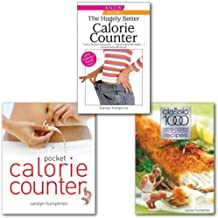 Carolyn Humphries Calorie Counter Collection 3 Books Set, (Pocket Calorie Counter: The Little Book That Measures and Counts Your Portions Too, The Classic 1000 Calorie-counted Recipes & The Hugely Better Calorie Counter)