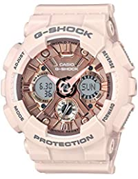 Casio G-Shock S-Series Analog-Digital Rose Gold Dial Women's Watch - GMA-S120MF-4ADR (G732)