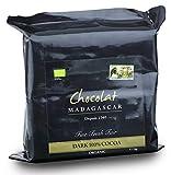 Chocolat Madagascar, Organic 100% dark chocolate...
