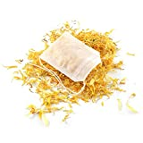 Feine Tee-Beutel für losen Blatt-Tee, 100 Stück, selbstbefüllbar, mit eingewobenem Faden zum Verschließen