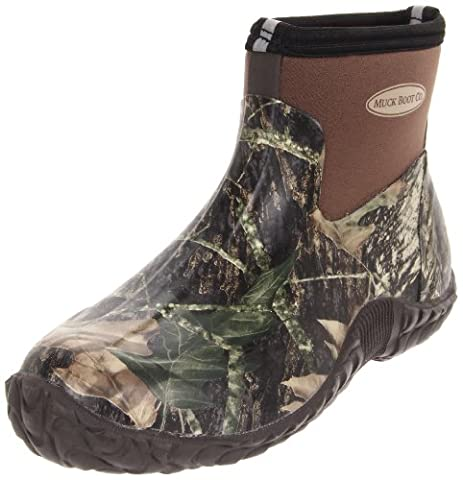 MuckBoots Men's Camo Camp Hunting Boot,Mossy Oak Break-Up,12 M US Mens