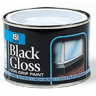 Able & Handy 91458 180ml Black Gloss Non Drip Paint (DGN), Multi-Colour