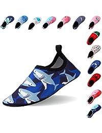 Laiwodun Kleinkind Schuhe Schwimmen Wasser Schuhe Mädchen Barefoot Aqua Schuhe für Beach Pool Surfen Yoga Unisex