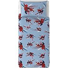 T & F 8050538312719Juego Sábanas Spiderman Marvel, 100% algodón, multicolor, individual, 280x 150x 0.5cm