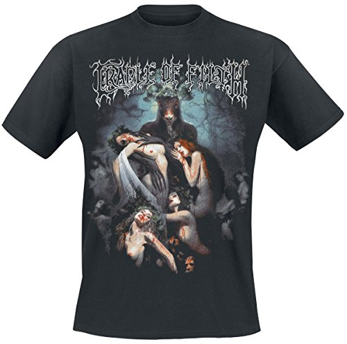 Cradle Of Filth Hammer Of The Witches T-Shirt nero XXL