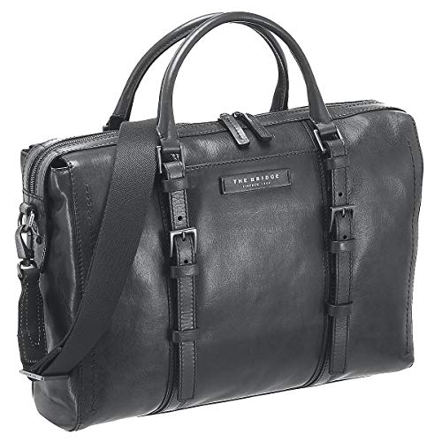 The Bridge Byron Aktentasche Leder 39 cm Laptopfach