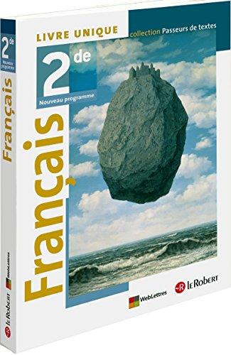 Français 2de Livre unique par Collectif