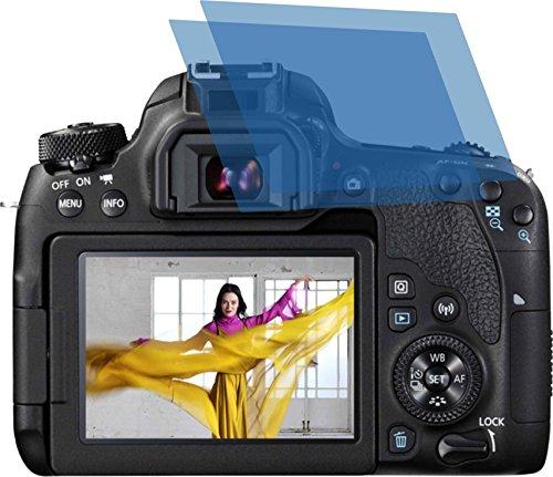 2x ANTIREFLEX matt Schutzfolie für Canon EOS 77D Premium Displayschutzfolie Bildschirmschutzfolie Schutzhülle Displayschutz Displayfolie Folie (Canon Stative)