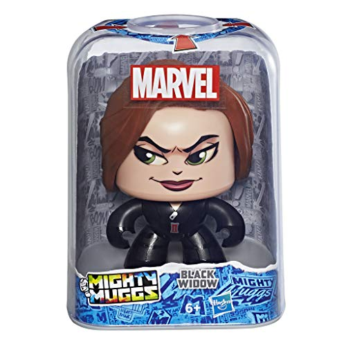 Marvel Classic- Mighty Muggs Figura Coleccionable de Marvel, Black Widow, Multicolor, Estándar (Hasbro E2167EU4)