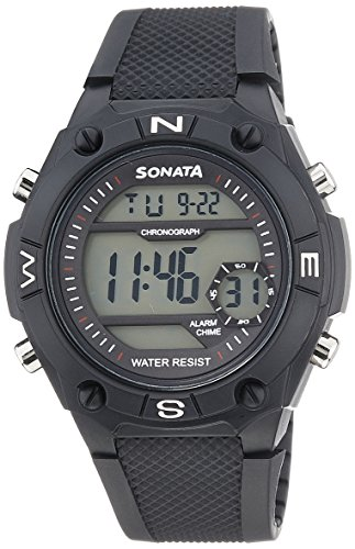 51simkO7ZoL - Sonata 77033PP04 Mens watch