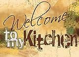 Artland Design Spritzschutz Küche I Alu Küchenrückwand Herd BxH: 90x65 cm sehr schnelle und einfache Montage Willkommen in meiner Küche