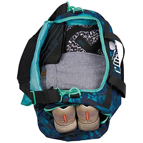 034c852cd9076 Chiemsee Unisex Reisetasche   Sporttasche Matchbag Large High Altitude Blue  ...