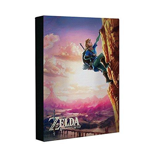 Mural de Zelda con luz Link Nintendo 29,7x20,1x5,3cm