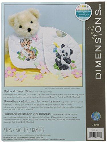 baby-hugs-baby-animals-bibs-stamped-cross-stitch-kit-9x14-set-of-2