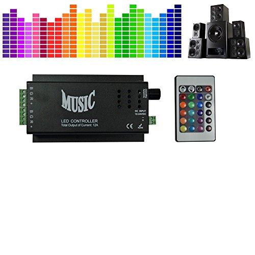 CONTROLEUR für LED Streifen Musikgesteuert der Sound