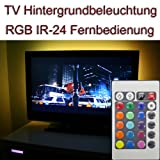 "SET ~ 40-42"" TV IR 24 RGB LED Hintergrundbeleuchtung Backgroundlight"