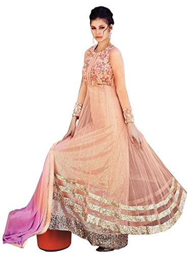 Jay Sarees Premium Range Heavy Work Eid Anarkali Unstitched 7066