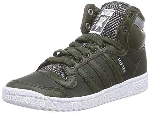adidas Originals Top Ten Hi Winterised Unisex-Erwachsene Hohe Sneakers, Grün (Night Cargo F14-St/Night Cargo F14-St/Ftwr White),